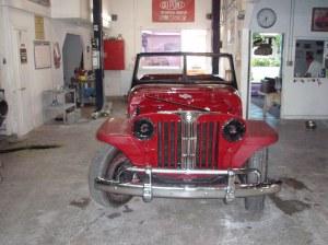 Antique Auto Restoration - 1940's Jeep Willies