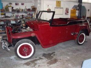 1940's Jeep Willies Restoration