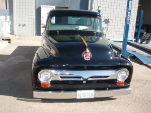 By TNS Auto Body Refinishing - Auto Restoration 1956 Ford Truck